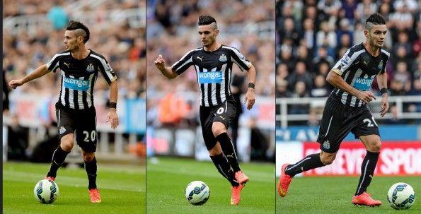 Prima maglia Newcastle United 2014-2015