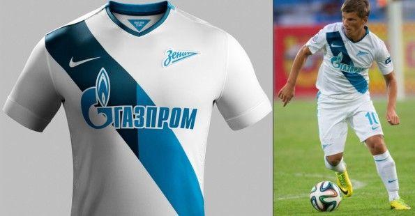 Seconda maglia Zenit 2014-2015