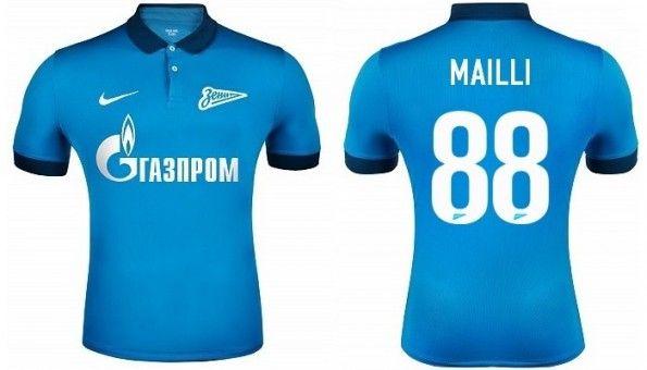 Prima maglia Zenit 2014-2015
