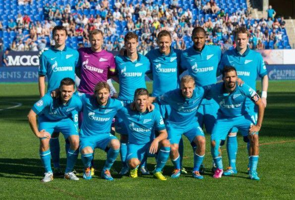 Divisa Zenit San Pietroburgo 2014-15 Nike