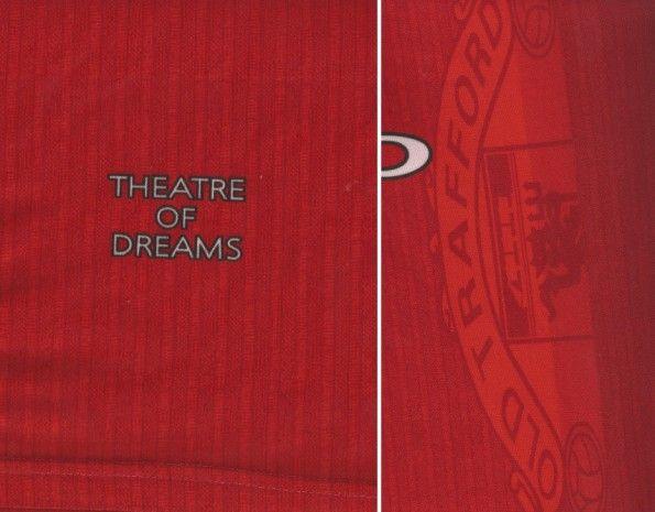 Omaggio Old Trafford maglia 1996-1998 Manchester United