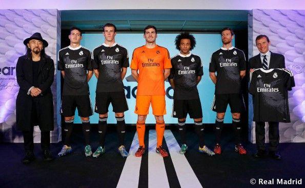 Real Madrid terza maglia 2014 2015 presentazione
