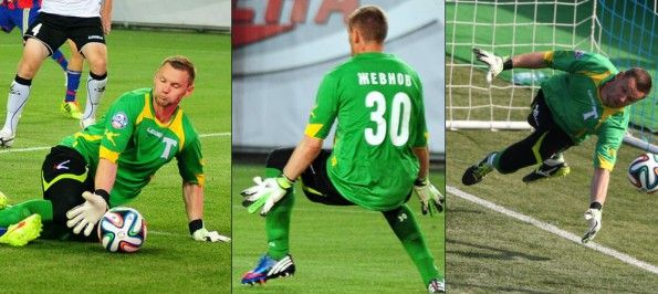 Torpedo Moscow goalkeeper kit 2014-2015