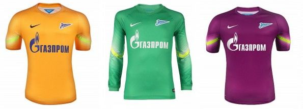 Maglie portiere Zenit 2014-2015