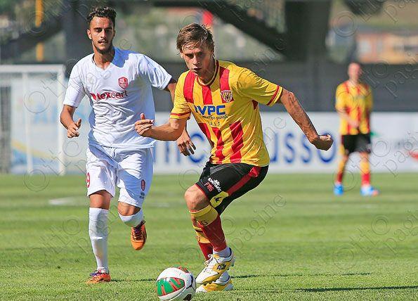 Benevento, home 2014-2015, pantaloncini, dettaglio