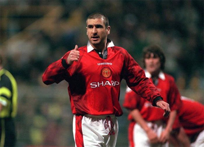 Eric Cantona nel Manchester United 1996-1997