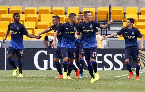 Manchester City-Milan amichevole 2014