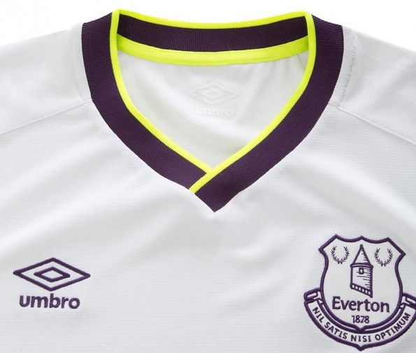Colletto terza maglia Everton 2014-15