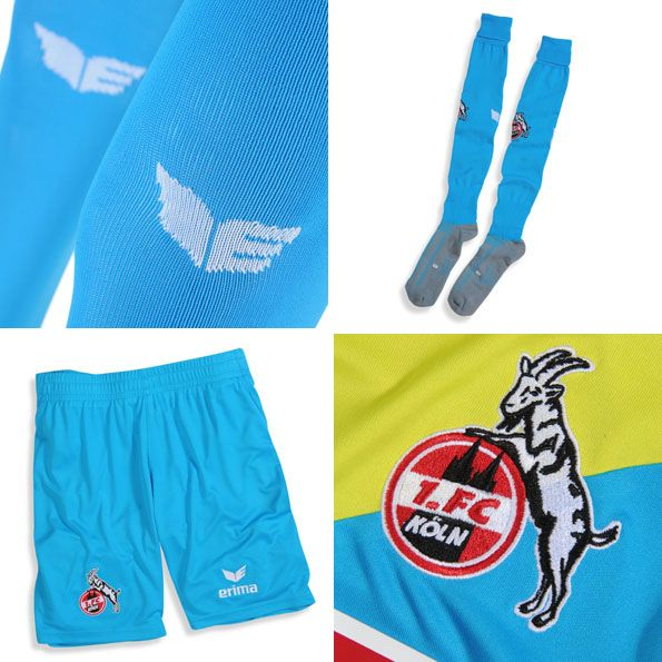 Terza divisa Colonia 2014-15 pantaloncini calze
