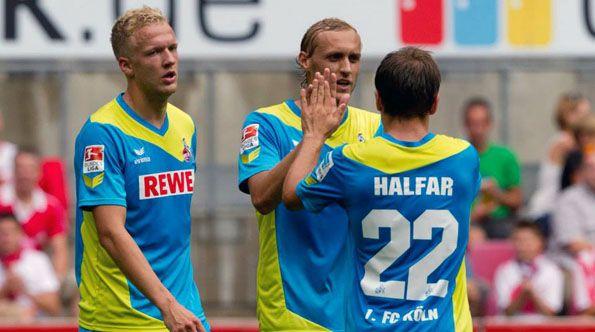 Dettagli terza maglia Colonia 2014-15
