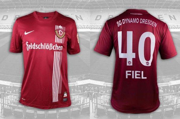 Seconda maglia Dinamo Dresda 2014-2015