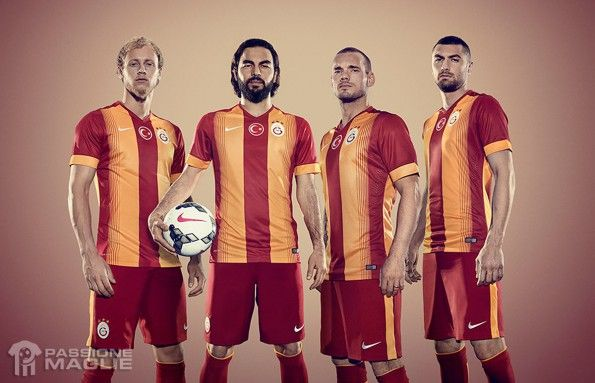 Galatasaray kit home 2014-2015