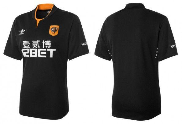 Seconda maglia Hull City 2014-2015