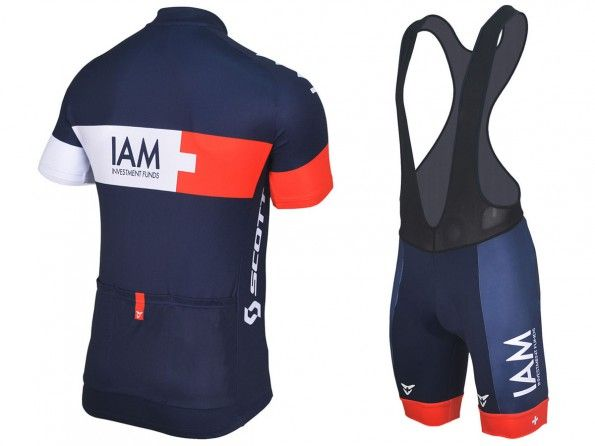 IAM Cycling, divisa 2014, retro + salopette