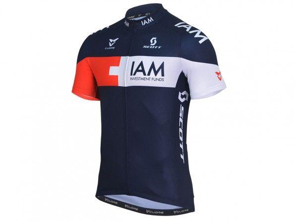 IAM Cycling, maglia 2014, fronte