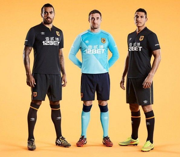 Hull City kit away 2014-2015 Umbro