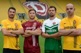 Maglie Dinamo Dresda 2014-2015