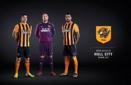 Kit Hull City 2014-2015 home