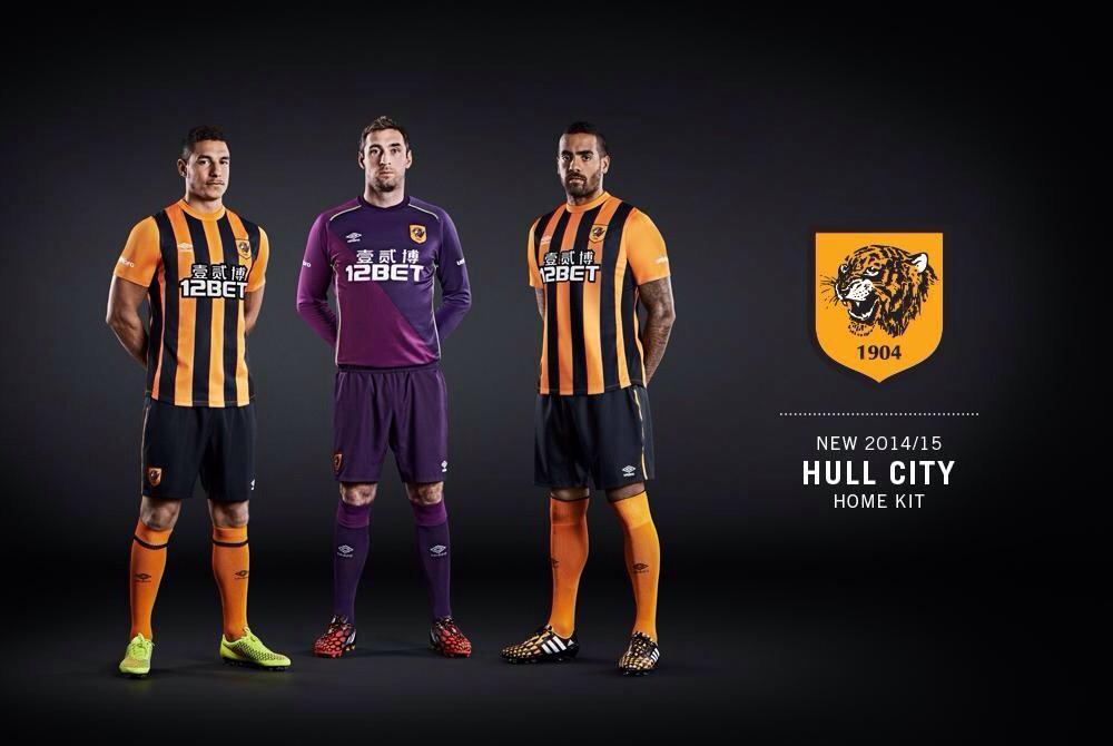 Kit Hull City 2014-2015 home