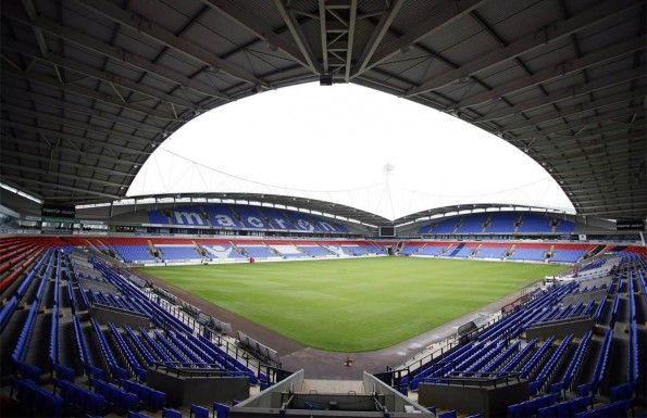 Il Macron Stadium a Bolton