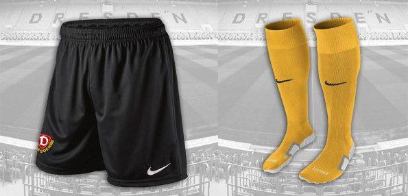 Pantaloncini calze Dinamo Dresda home 2014-15