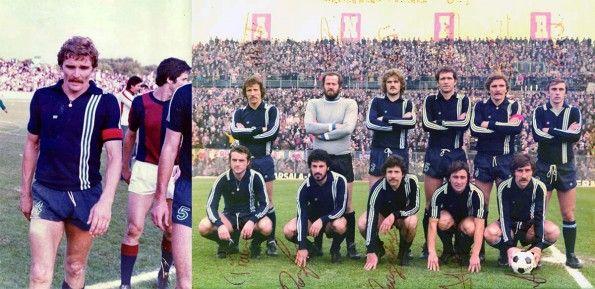 Zucchini con il Pescara anni '70