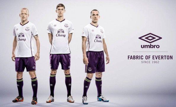 Presentazione terza maglia Everton 2014-2015