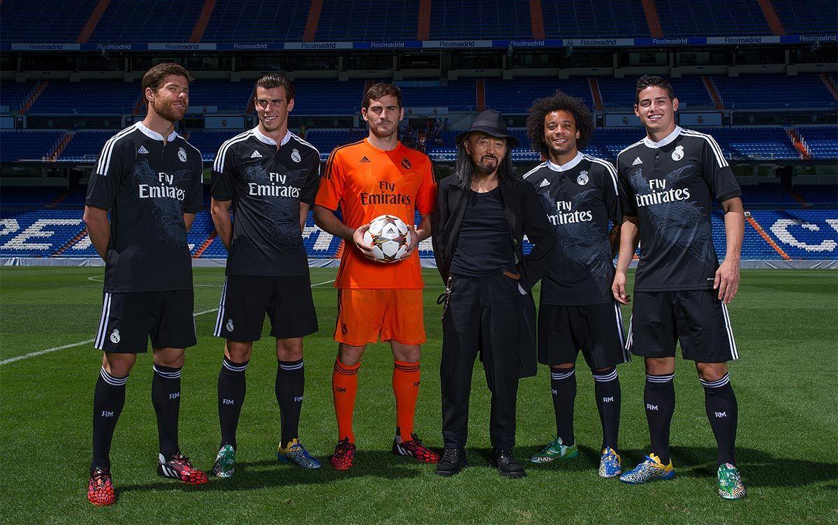 Presentazione terza maglia Real Madrid 2014-2015