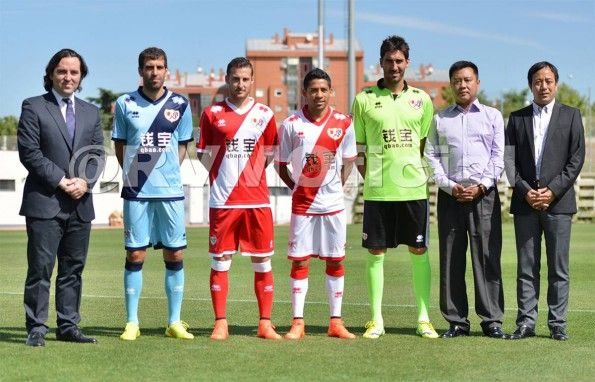 Maglie Rayo Vallecano 2014-2015