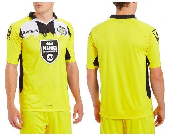 Seconda maglia St. Mirren 2014-2015
