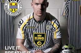 St. Mirren Carbrini home kit 2014-15