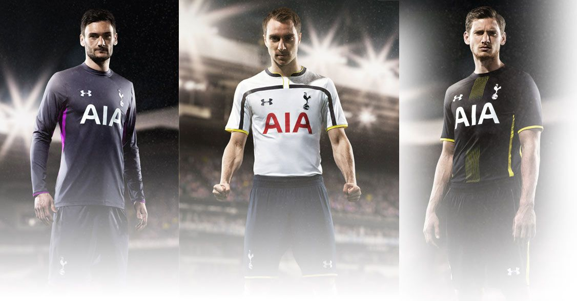 Kits Tottenham 2014-2015 Under Armour