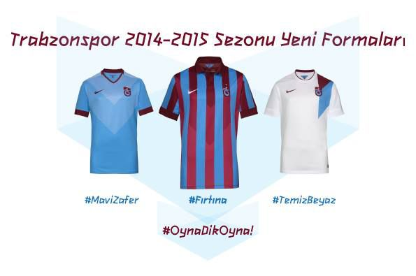 Maglie Trabzonspor 2014- 2015