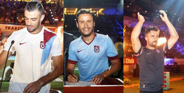 Trabzonspor maglie portiere, away e third 2014-15