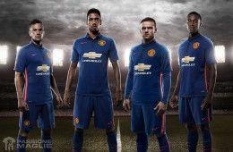 Third kit Manchester United 2014-2015