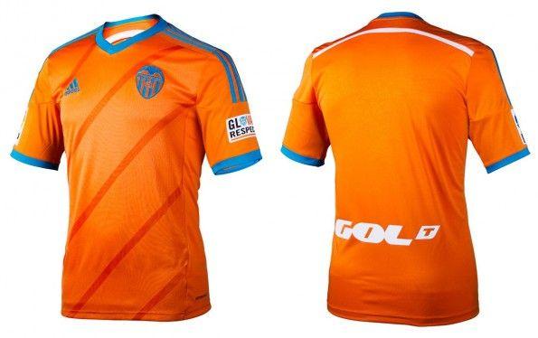 Seconda maglia Valencia 2014-2015