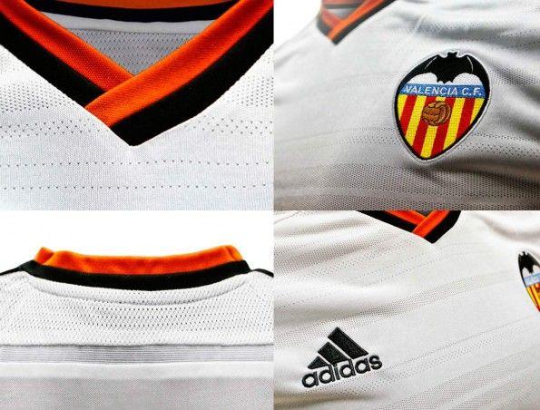 Dettagli prima maglia Valencia 2014-15