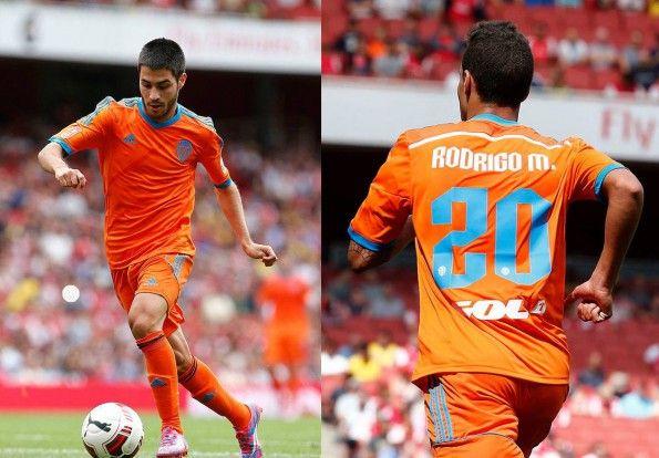 Divisa Valencia trasferta arancione 2014-15