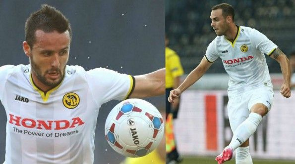 Terza maglia Young Boys 2014-2015 bianca