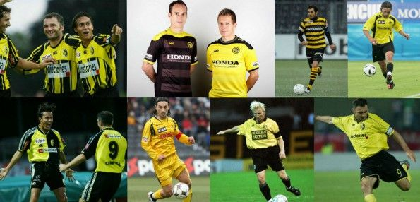 Storia maglie Young Boys giallonere