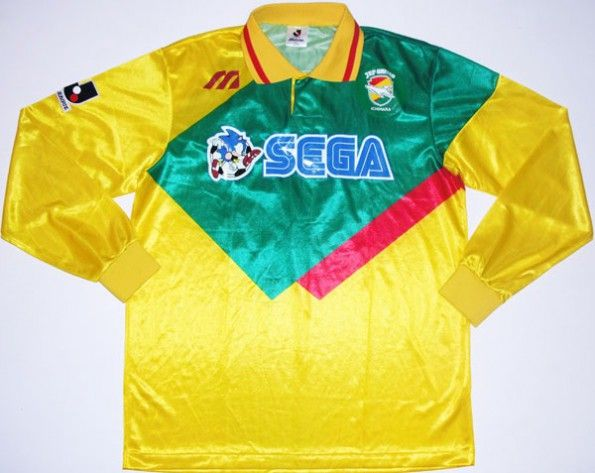 Maglia Jef United sponsor Sega
