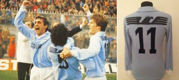 Prima Maglia SS Lazio 1983-1985