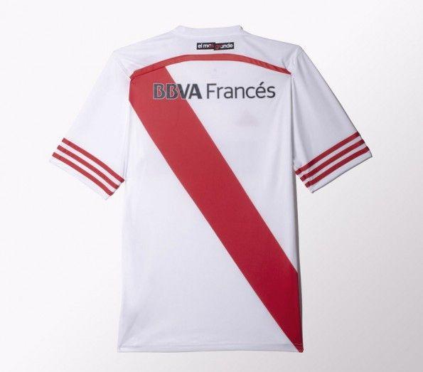 Retro Maglia River Plate 2014-2015