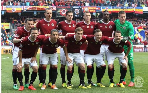 Sparta Praga prima maglia 2014-2015