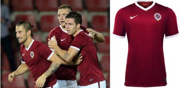 Maglia Sparta Praga 2014-15 Nike