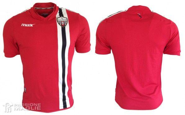 Terza maglia Ascoli Picchio 2014-2015 rossa