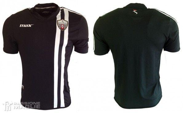 Seconda maglia Ascoli Picchio 2014-2015 nera