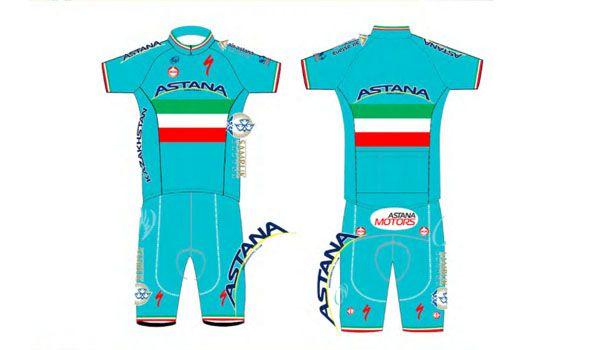 Maglia tricolore, Astana Pro Team, 2014