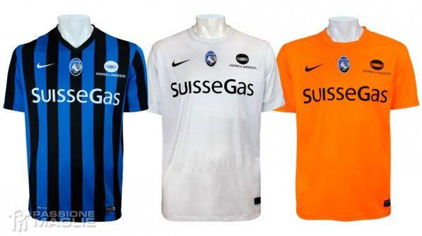 Maglie Atalanta 2014-2015 Nike