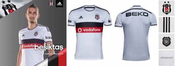 Prima maglia Besiktas 2014-2015